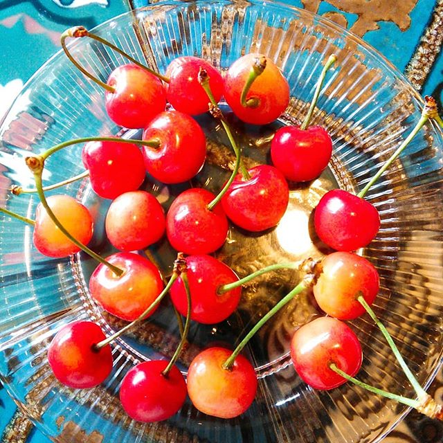 お客様から差し入れいただきました。季節の果物は本当に嬉しいです!良いお天気も今日までらしいですね、、今週6/19(火)はお休みいただきます #平野区 #パン屋