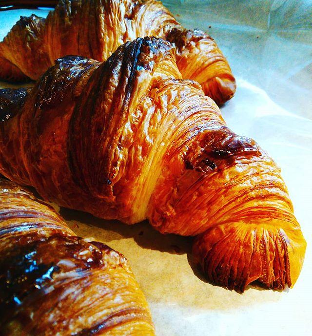 おはようございます。ようやく雨も上がり、クロワッサンもサクサクです。本日も皆様のご来店お待ちしております。#平野区 #パン屋 #リノベーション