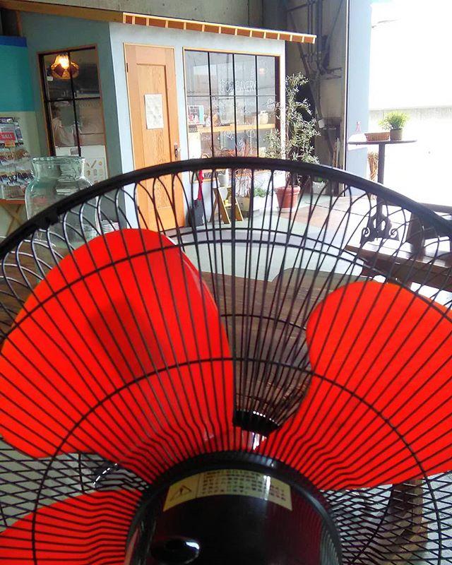 おはようございます。今年も扇風機出しました、これでイートインも少しは涼しく過ごしていただけます本日も皆様のご来店お待ちしております。#平野区 #パン屋